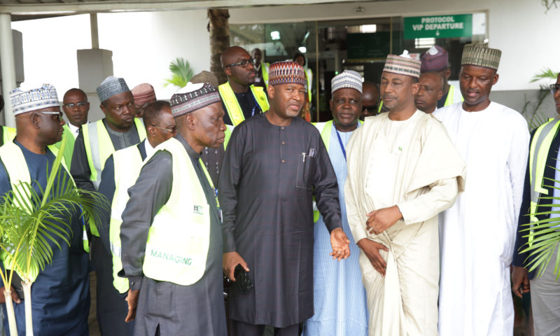 NNAMDI AZIKWE INT'L AIRPORT REOPENS 24HRS BEFORE TIME. APR 18 2017
