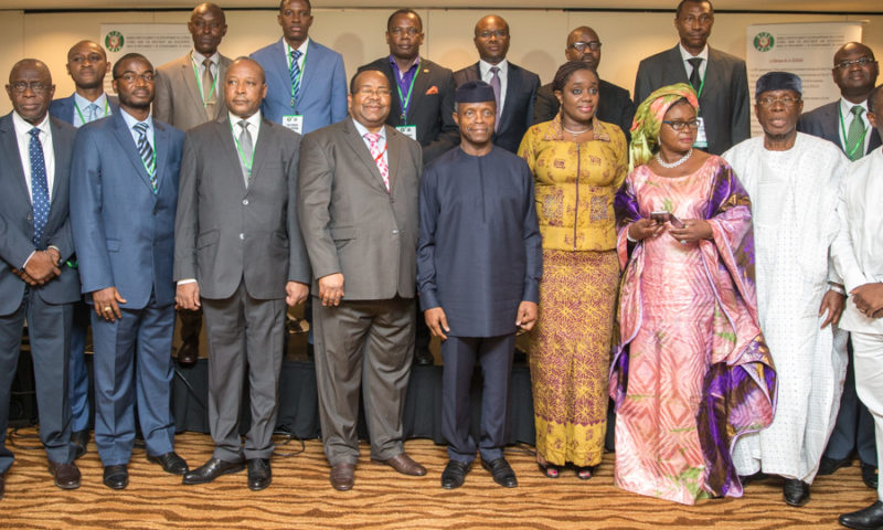 VICE PRESIDENT YEMI OSINBAJO AT THE ECOWAS BANK INVESTMENT 15TH ANNUAL MEETING