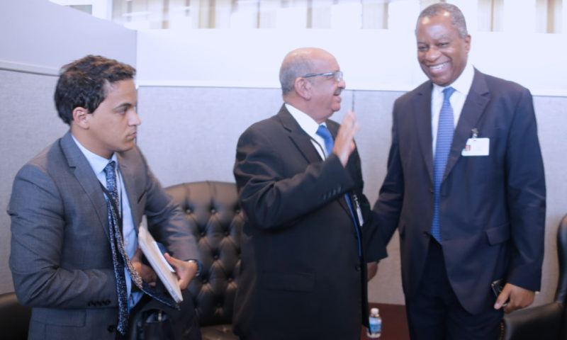 Nigerian Minister of Foreign Affairs meet with Algerian Counterpart at UNGA72