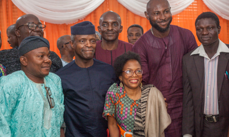 Vice President Yemi Osinbajo attends Re-launch of Theseabilities Foundation, Lagos, 7th October, 2017