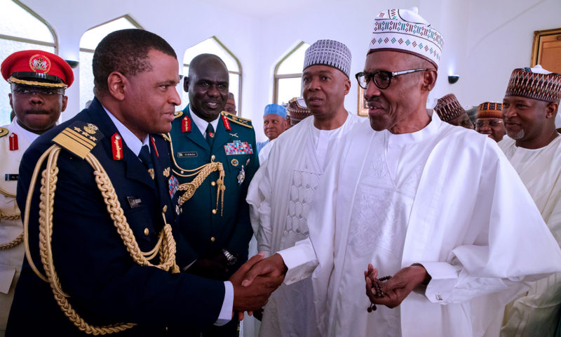 PRESIDENT BUHARI & OTHERS OBSERVES JUMAAT FOR THE 57TH YEARS ANNIVERSARY. SEPT 29 2017