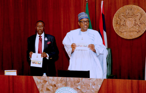 PRESIDENT BUHARI LAUNCHED NAT ACTION PLAN ON VIOLENT EXTREMISM. NOV 28 2017