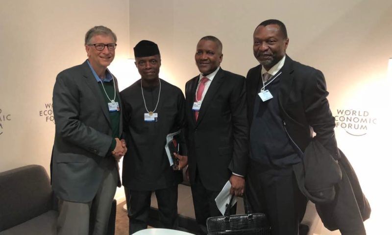 VP Osinbajo at the 2018 WORLD ECONOMIC FORUM, DAY 3, 25TH JAN. 2018