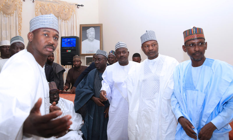 FGN DELEGATION ON CONDOLENCE VISIT TO SOKOTO STATE, MARCH 30 2019