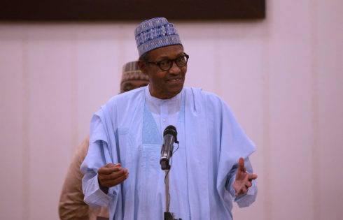 PRESIDENT BUHARI BREAKS RAMADAN FAST WITH FEC MEMBERS, SERVICE CHIEF AND MGDs.