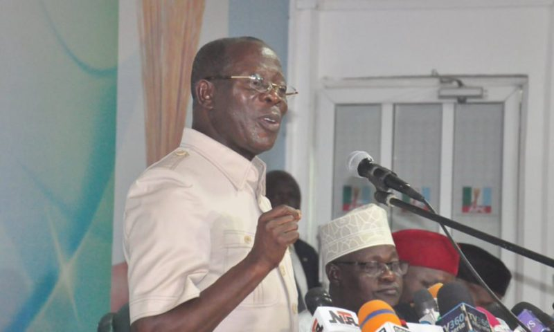 APC state chairmen pass vote of confidence in Oshiomhole