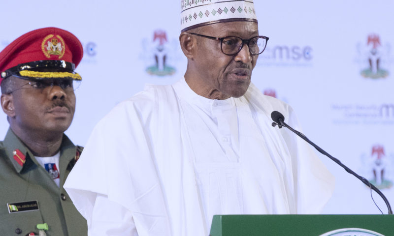 PRESIDENT BUHARI ATTENDS THE LAUNCH OF #MSCreport and #MSCtransnational