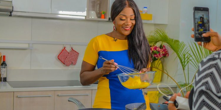 Nollywood actress Mercy Johnson set to lunch new cook- talk show