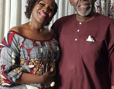 Joke Silva celebrates husband, Olu Jacobs @ 77