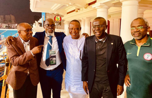 FGN DELEGATION TO CAF TOURNAMENT IN EGYPT