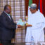 Subject: PRESIDENT BUHARI RECEIVES MEMBERS OF NMA LED BY DR FADUYILE