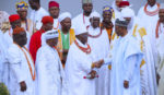 PRESIDENT BUHARI RECEIVED OBA OF BENIN AND EDO STATE TRADO RULERS. JULY 3 2019