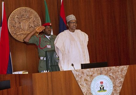 PRESIDENT BUHARI RECEIVES IN AUDIENCE APC BAUCHI STATE HOUSE