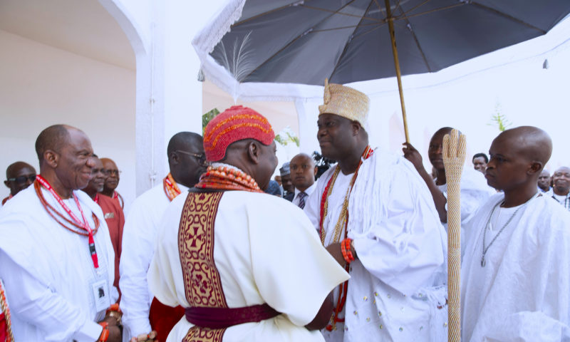 PRESIDENT BUHARI RECEIVES TRADITIONAL RULERS FROM SOUTHWEST. JULY 31 2019