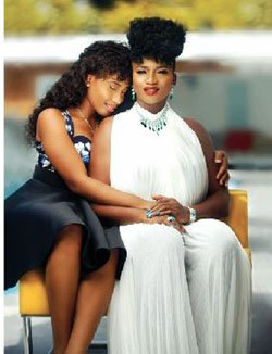 Waje features daughter and Johnny Drille in new video