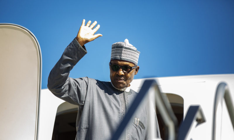 PRESIDENT MUHAMMADU BUHARI DEPARTS NEW YORK FOR NIGERIA AFTER A SUCCESSFUL PARTICIPATION AT THE UNGA74 SESSION IN New York. SEPT 27 2019