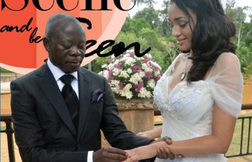 Where is Oshiomhole's wife, Lara?