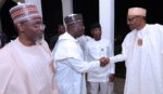 PRESIDENT BUHARI PARTICIPATES AT THE APC CAUCUS MEETING