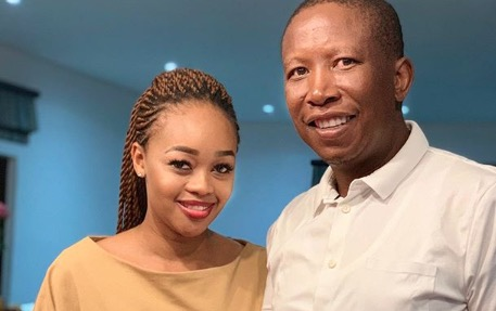 Julius Malema pays tribute to wife, says 'She's perfect and married madness'