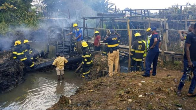 Seven Killed, Scores Injured in Another Lagos Pipeline Fire