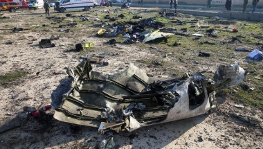 Iranians angry at authorities for hiding truth on plane crash