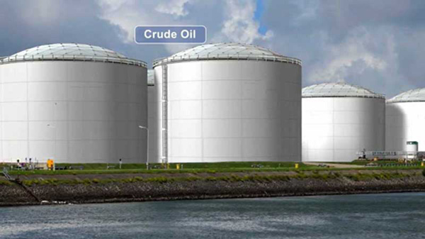 Over supply stretches global oil storage tanks beyond limit