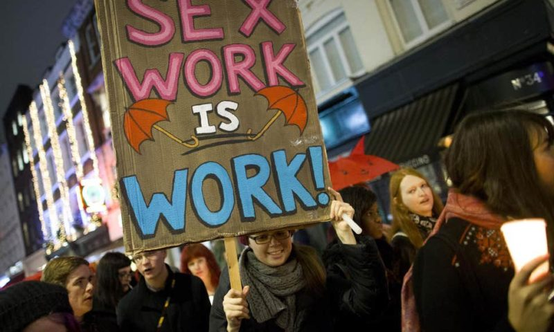 Coronavirus takes toll on sex workers in UK, demand government bailout