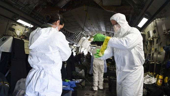 WHO warns first wave of pandemic not over, virus still on way up