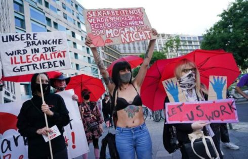 COVID-19: Sex workers protest in Germany, want brothels reopen
