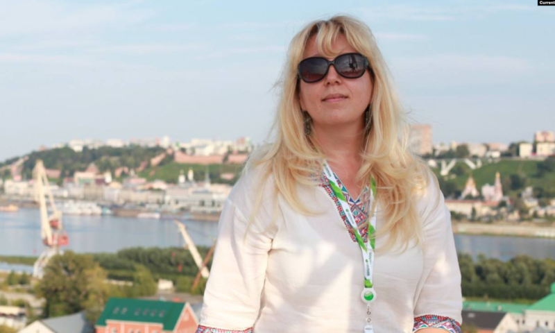How Russian female journalist committed suicide