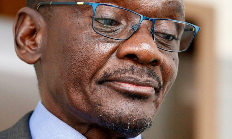 Sex scandal forces Zimbabwe's vice-president to resign