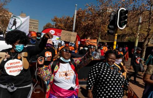 Sex workers in South Africa push for decriminalization of prostitution